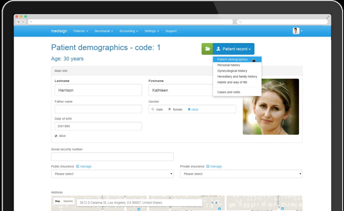 MediSign USA tablet screenshot